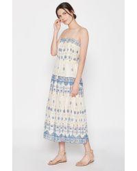 Joie | Blue Rosenda Silk Top | Lyst
