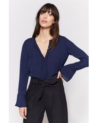 Joie - Blue Blenda Silk Top - Lyst