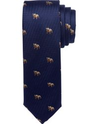 Jos. A. Bank - Blue 1905 Collection Bulldog Tie for Men - Lyst