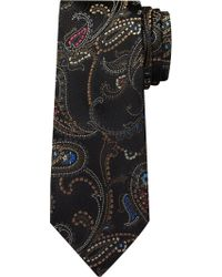 Jos. A. Bank Black Reserve Collection Paisley Tie for men