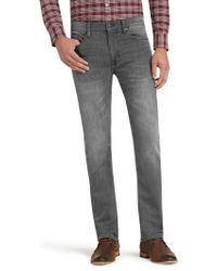 Jos. A. Bank - Gray 1905 Collection Tailored Fit Jeans for Men - Lyst