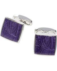 Jos. A. Bank   Purple Square Cufflinks for Men   Lyst