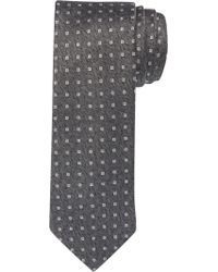 Jos. A. Bank - Black Reserve Collection Herringbone Geometric Tie for Men - Lyst