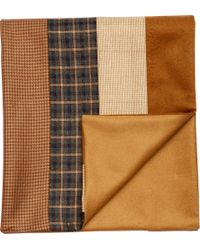 Jos. A. Bank - Black Multi-panel Scarf Clearance - Lyst