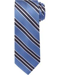Jos. A. Bank - Blue Traveler Collection Triple Stripe Tie for Men - Lyst