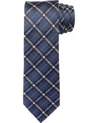 Jos. A. Bank - Blue Joseph Abboud Heritage Plaid Linen Tie for Men - Lyst