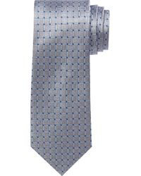 Jos. A. Bank - Metallic Traveler Collection Textured Squares Tie for Men - Lyst