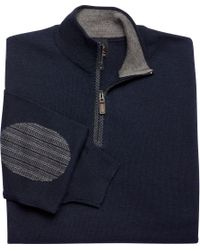 Jos. A. Bank - Blue Signature Collection Merino Quarter-zip Sweater for Men - Lyst