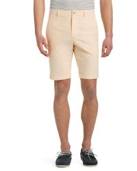 Jos. A. Bank - Yellow 1905 Collection Tailored Fit Oxford Shorts - Big & Tall Clearance for Men - Lyst