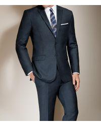 Jos. A. Bank - Blue Joseph Slim Fit 2-button Wool/cashmere Plain Front Suit Clearance for Men - Lyst