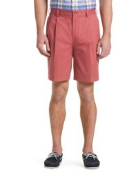 Jos. A. Bank - Black Traveler Collection Traditional Fit Pleated Front Twill Shorts for Men - Lyst