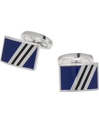 Jos. A. Bank - Metallic Enamel Rectangle Cufflinks for Men - Lyst