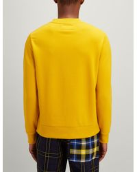 Joseph - Yellow Jersey Sweatshirt for Men - Lyst