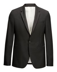Joseph - Black Veste Clément en laine Mohair for Men - Lyst