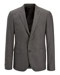 Joseph - Gray Tropical Wool Davide Suit Jacket for Men - Lyst