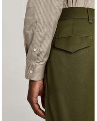 Joseph - Green Pantalon Bernard en chino compact for Men - Lyst