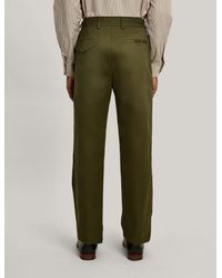 Joseph - Green Pantalon Bernard en chino compact for Men - Lyst
