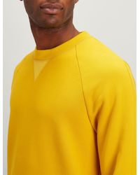 Joseph - Yellow Jersey Sweatshirt for Men - Lyst