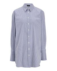 JOSEPH | Blue Shirting Stripe Emile Shirt | Lyst