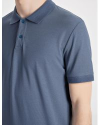JOSEPH - Blue Ice Jersey Polo for Men - Lyst