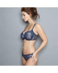 Adina Reay - Blue Pen Thong - Lyst
