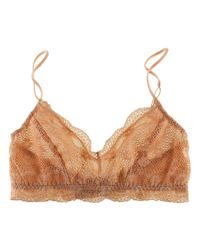 Eberjey - Natural India Retro Bralet - Lyst