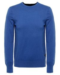 Paul Smith | Blue Crew Neck Jumper for Men | Lyst