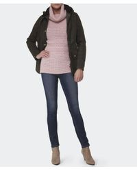 Barbour - Pink Barlett Wool Jumper - Lyst