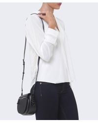 Rebecca Minkoff - Black Mini Astor Saddle Bag - Lyst