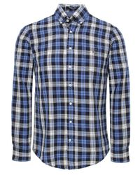Gant | Blue The Hugger Shirt for Men | Lyst