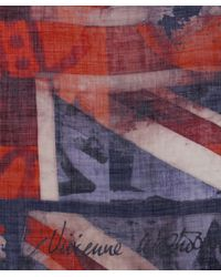 Vivienne Westwood   Red Vintage Union Jack Scarf   Lyst