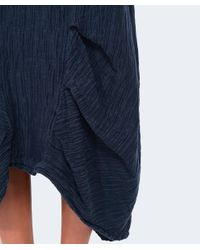 Grizas - Blue Oriental Silk Skirt - Lyst