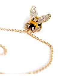 Vivienne Westwood - Metallic Bumble Pendant Necklace - Lyst