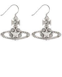 Vivienne Westwood | Metallic Astrid Drop Earrings | Lyst