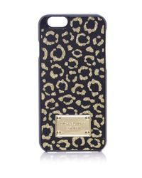 MICHAEL Michael Kors - Metallic Leopard Iphone 6 Case - Lyst