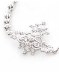 Vivienne Westwood | Metallic Isolde Bas Relief Bracelet | Lyst