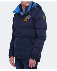 Napapijri | Blue Arctic Marine Puffer Jacket for Men | Lyst