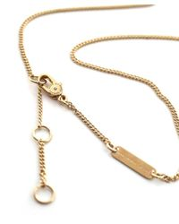 Marc Jacobs - Metallic Music Star Charm Necklace - Lyst
