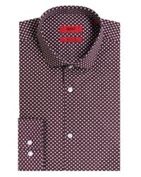 HUGO | Red Extra Slim Fit Erondo Shirt for Men | Lyst