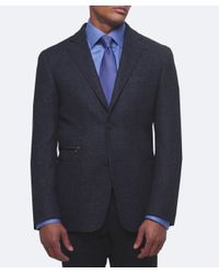 Corneliani - Blue Virgin Wool Jacket for Men - Lyst