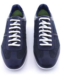 BOSS Green | Blue Space Select Trainers for Men | Lyst