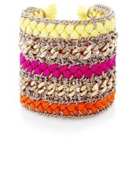 Butterfly - Multicolor Pop Colour Cuff - Lyst