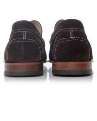 Joss - Brown Suede Savanna Loafers for Men - Lyst