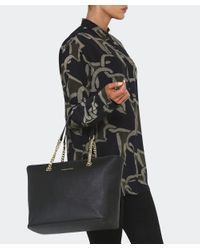 MICHAEL Michael Kors - Black Jet Set Chain Tote Bag - Lyst