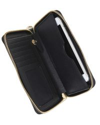 MICHAEL Michael Kors - Black Jet Set Phone Case - Lyst