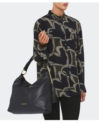 MICHAEL Michael Kors - Black Elyse Large Shoulder Bag - Lyst