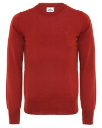 Vivienne Westwood | Orange Classic Crew Neck Jumper for Men | Lyst