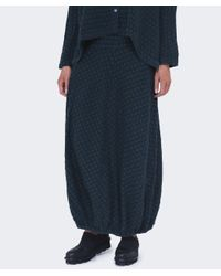Grizas - Multicolor Textured Linen Skirt - Lyst