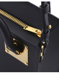 Sophie Hulme - Black Box Albion Leather Tote Bag - Lyst