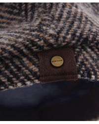 Stetson | Gray Hatteras Herringbone Check Cap for Men | Lyst